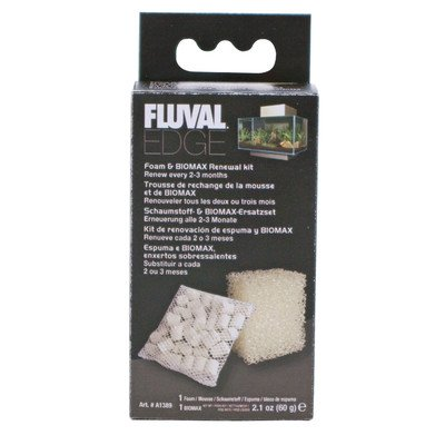 Fluval Edge Foam & Biomax Renewal Kit [Set of 3] ()
