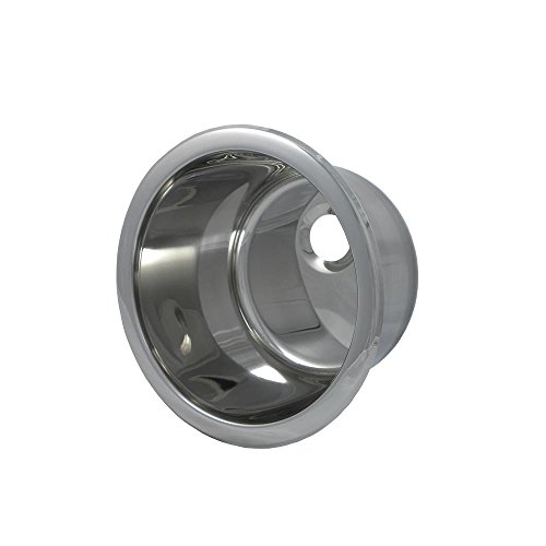 Opella 14107.045 Universal Mount Single Bowl Bar Sink, 10
