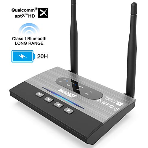 Which are the best bluetooth transmitter for tv audio dual available in 2019?