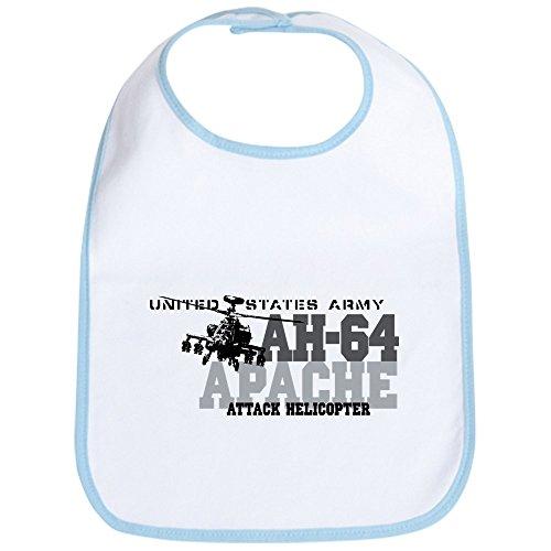 Army Bib (CafePress - Army Apache Helicopter Bib - Cute Cloth Baby Bib, Toddler)