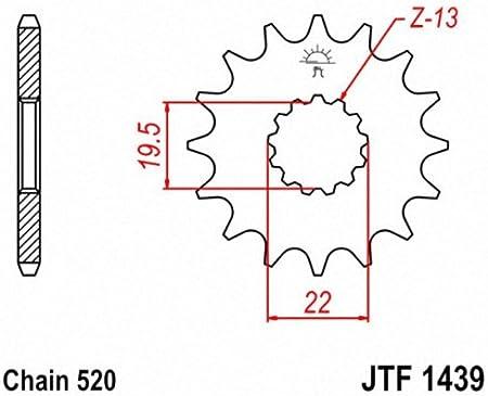 JT Sprockets JTF1439.12 12T Steel Front Sprocket