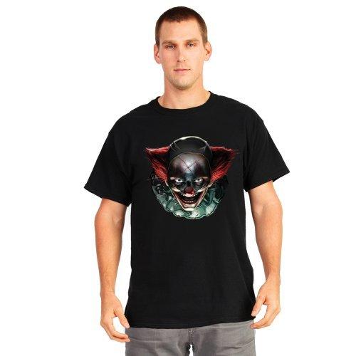 Digital Dudz Freaky Clown Eyes Digital t-shirt - size Medium by Morph Costume Co ()