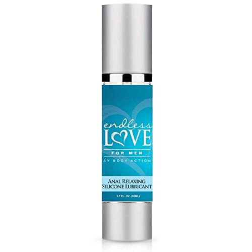 Endless Love For Men Anal Relaxing Silicone Lube - 1.7 oz