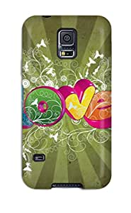 ZippyDoritEduard Scratch-free Phone Case For Galaxy S5- Retail Packaging - Love Beautiful