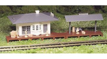 Bachmann Williams BAC45173 Ho Suburban Station Kit ()