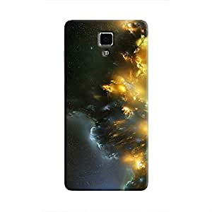 Cover It Up - Yellow Space Cloud Mi4 Hard case