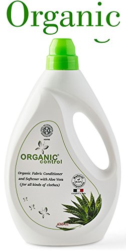Fabric Softener and Conditioner - All Natural Organic Laundry Detergent Liquid – Non Toxic Fabric Softener Liquid With Aloe Vera - All Types Of Fabric - Wool Silk (For All Kinds Of Clothes) 40.5 (Wash Silk Fabric)