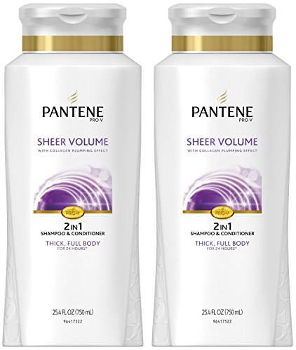 Pantene Pro-V Sheer Volume 2in1 Shampoo & Conditioner - 25.4 oz - 2 pk (Packaging may vary)