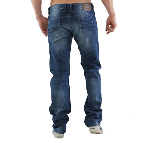 DIESEL Herren Denim Jeans Hose SAFADO Blue 0R28H