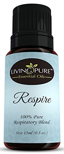 #1 Respiratory Essential Oil & Sinus Relief Blend – Supports Allergy Relief, Breathing, Congestion Relief, & Respiratory Function – 100% Organic Therapeutic & Aromatherapy Grade – 15ml 41KIT7KmruL