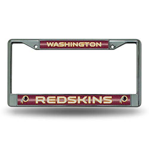Where to find redskins license plate frame?