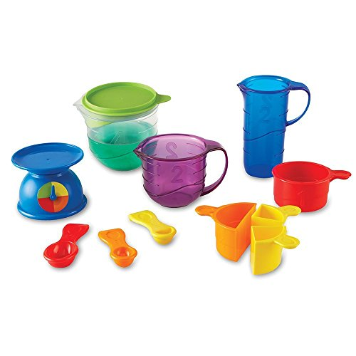 Learning Resources Mix And Measure Activity Set, Experiment Mixing Tools, 22 Pieces, Ages 3+