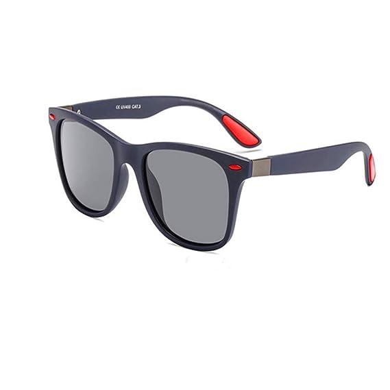 Gafas de sol polarizadas Hombre Mujer/Deportes Gafas reflectantes con verano Deportes al aire libre Conducción Pesca Montañismo Gafas de sol Hombres