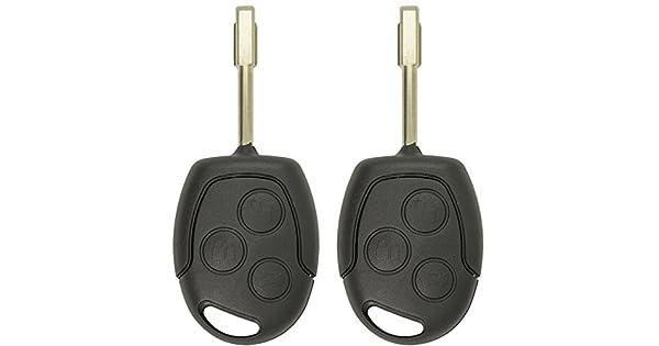 KeylessOption Keyless Entry Remote Car Uncut High Security Key Fob for 164-R8007 Ford Focus Escape Transit Connect