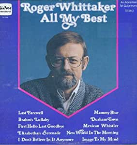 Roger Whittaker All My Best 21 Greatest Hits Vinyl