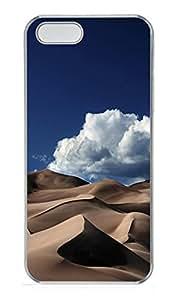 iPhone 5 5S Case Sand Dunes PC Custom iPhone 5 5S Case Cover Transparent