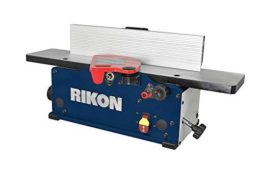 "RIKON Power Tools 20-600H 6"" Benchtop Jointer with Helical Cutter"