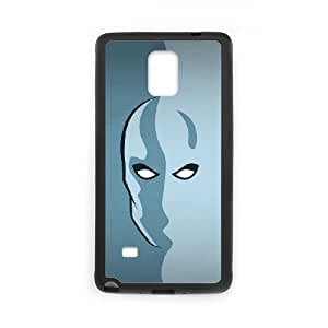 Samsung Galaxy Note 4 Cell Phone Case Black Silver Surfer LSO7891633