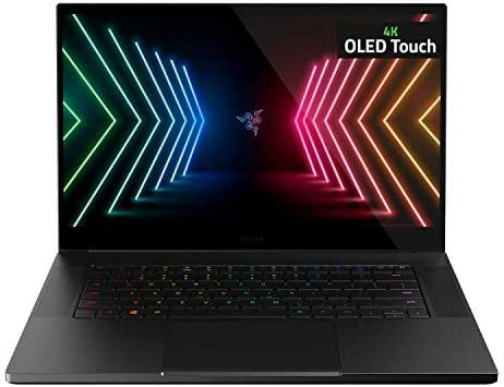 "Razer Blade 15 Advanced Gaming Laptop 2021: Intel Core i7-10875H 8-Core, NVIDIA GeForce RTX 3080, 15.6"" 4K OLED, 32GB RAM, 1TB SSD - CNC Aluminum - THX Spatial Audio - Thunderbolt 3 - Creator Ready"
