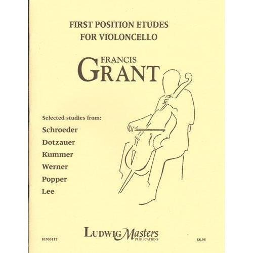 Grant, Francis - First Position Etudes for Cello - Ludwig Music Publishing
