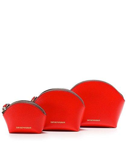 Emporio Armani Women's Beauty Bag Trio Coral One Size by Emporio Armani (Image #2)
