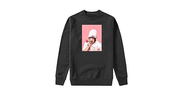 MYMERCHANDISE Lil xan Xanarchy Capucha Crewneck Sudadera Sweater Sweatshirt Mens 2XL Black Crewneck: Amazon.es: Ropa y accesorios