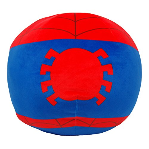 Marvel s Spider-Man, Spider-Man 3D Ultra Stretch Cloud Pillow, 14 Round, Multi Color