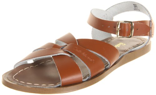 Price comparison product image Salt Water Sandals by Hoy Shoe Original Sandal (Toddler/Little Kid/Big Kid/Women's), Tan, 7 M US Big Kid