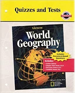 Printables Glencoe World Geography Worksheets glencoe world geography teacher wraparound edition mcgraw hill quizzes and tests for geography