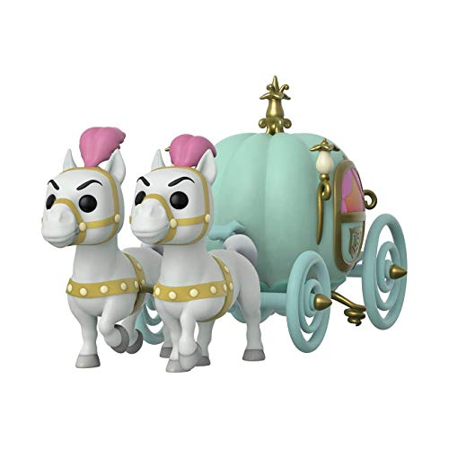 Funko- Pop Town Cinderella-Carriage w/Fairy Godmother Collectible Toy, Multicolor (45549)