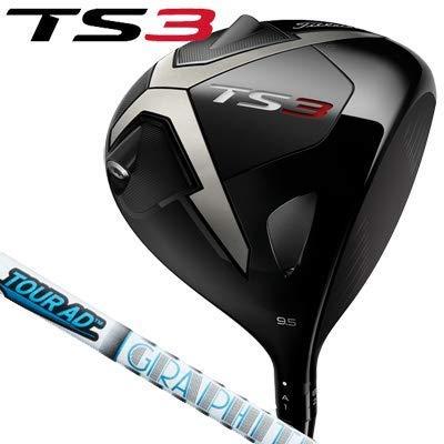 TITLEIST(タイトリスト) TS3 ドライバー TourAD VR-6 (ツアーAD VR6) メンズゴルフクラブ 右利き用 B07L9PVFCN ロフト角(10,5度) FLEX-X