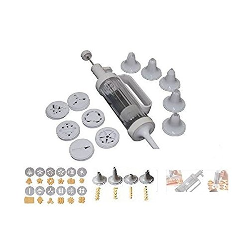 Cookie Press And Cake Decorator Set,18Pcs