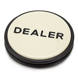 Brybelly, Casino Grade Poker Dealer Button Puck - Large 3 Inch Diameter!