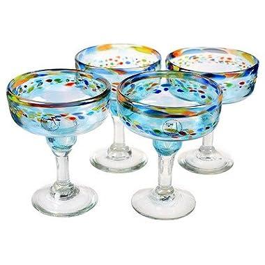 Global Amici Del Sol Margarita Glasses - Set of 4