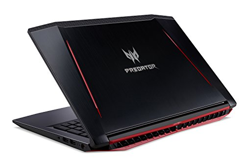 Acer Predator Helios 300 Gaming Laptop, 15.6'' Full HD, Intel Core i7-7700HQ CPU, 16GB DDR4 RAM, 256GB SSD, GeForce GTX 1060-6GB, VR Ready, Red Backlit KB, Metal Chassis, G3-571-77QK by Acer (Image #3)'