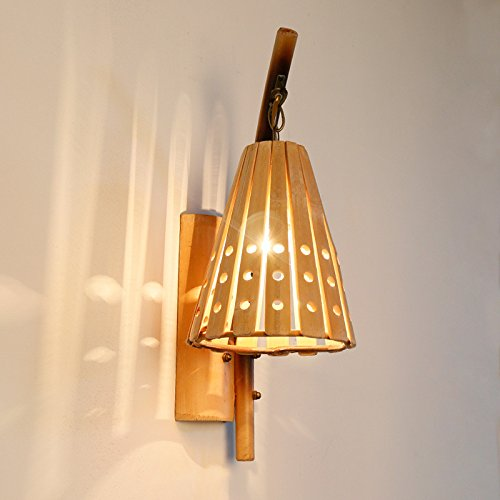 Original creative bamboo wall lamp simple hollow japanese restaurant original creative bamboo wall lamp simple hollow japanese restaurant wall light 325200480mm outdoor kids living room aloadofball Images
