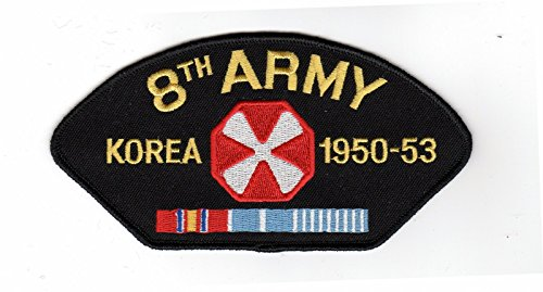 8th Army Korea 1950-53 Hat Patch (Military Korea Hat)