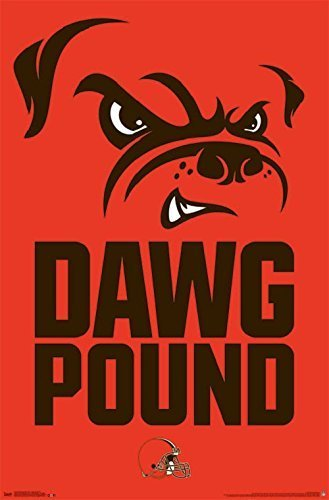 nfl-cleveland-browns-dawg-pound-22-x-34-inches-poster-by-trends