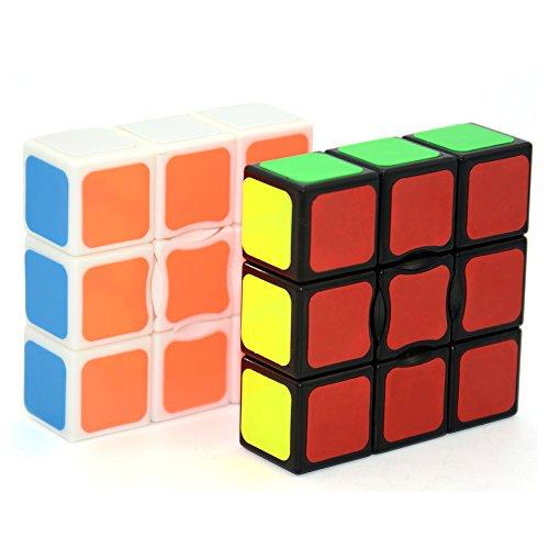 LIKIQ Speed Cube 1x3x3 Black and White Set