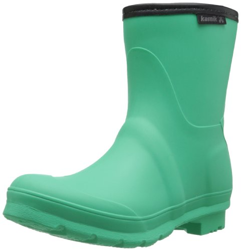 Kamik Women's Jenny Low Rain Boot,Simply Green,8 M US