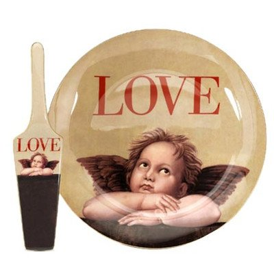 Love Cupid Server and Cake (Fair Gravy Boat)