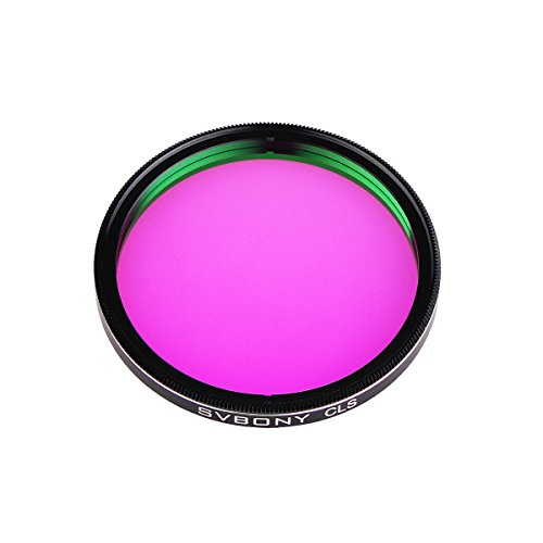 SVBONY Filter for Photography Broadband CLS Filter for Astronomical Observation Photography CCD Cameras and DSLR (2 inch) by SVBONY