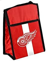 NHL Detroit Redwings Velcro Lunch Bag