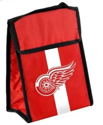 NHL Detroit Redwings Velcro Lunch - Red Wing 420