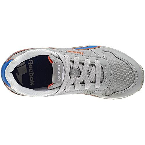 Reebok - Royal CL Jogger - V63290 - Couleur: Bleu-Gris-Orange - Pointure: 28.0