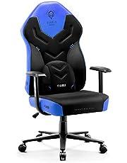 Diablo X-Gamer 2.0 Fotel Gamingowy Krzesło Biurowe Dla Gracza Pianka HR Wygodne Podłokietniki Materiałowa Tapicerka Ergonomiczny Design