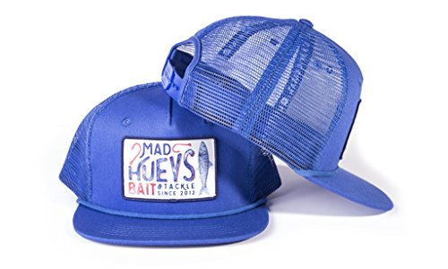 Mad Mesh - The Mad Hueys Trucker Hat Collection (Bait Tackle Blue)