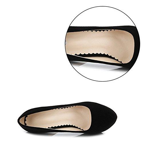 Avec Fin Femme Féminins Noir Night 14cm Soirée Une De Hauts Club Snone Escarpins Imperméable Plateforme Super Talon Chaussures Talons z0wvvq