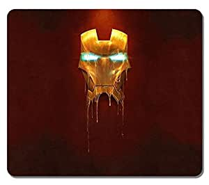 Customized Fashion Style Textured Surface Water Resistent Mousepad Iron Man Mask High Quality Non-Slip Gaming Mouse Pads by mcsharksby Maris's Diary