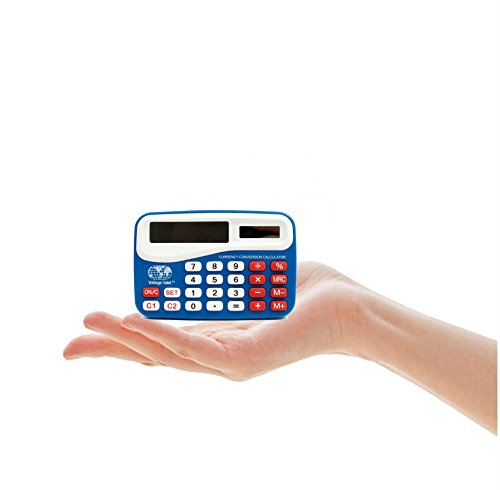 Voltage Valet Portable Currency Converter Calculator With Warranty Blue 2 CC